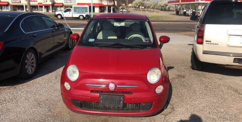 2012 FIAT 500 for sale at 733 Cars in Oklahoma City OK