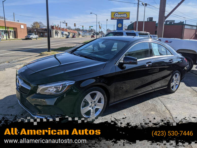 2017 Mercedes-Benz CLA for sale at All American Autos in Kingsport TN