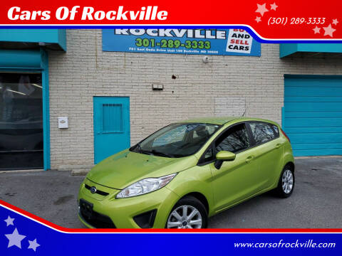 2011 Ford Fiesta for sale at Cars Of Rockville in Rockville MD