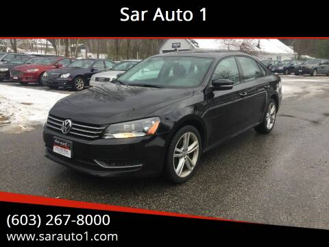 2014 Volkswagen Passat for sale at Sar Auto 1 in Belmont NH