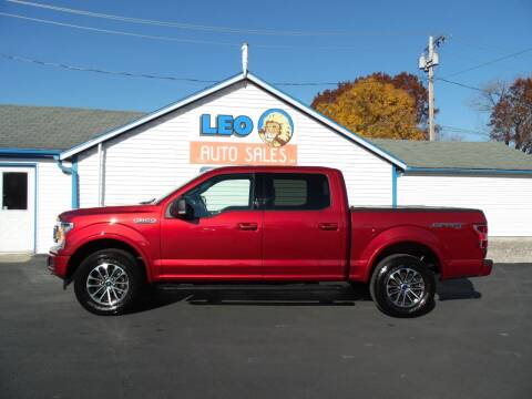 2019 Ford F-150 for sale at Leo Auto Sales in Leo IN