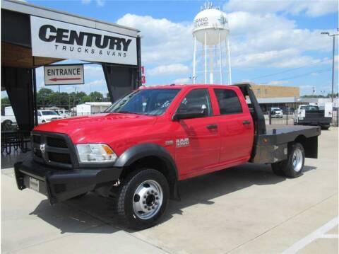 2015 RAM Ram Chassis 5500 for sale at CENTURY TRUCKS & VANS in Grand Prairie TX