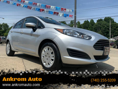 2016 Ford Fiesta for sale at Ankrom Auto in Cambridge OH