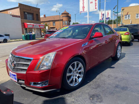2009 Cadillac CTS for sale at Latino Motors in Aurora IL