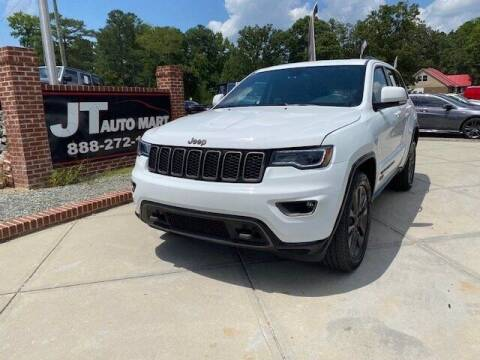 2016 Jeep Grand Cherokee for sale at J T Auto Group in Sanford NC