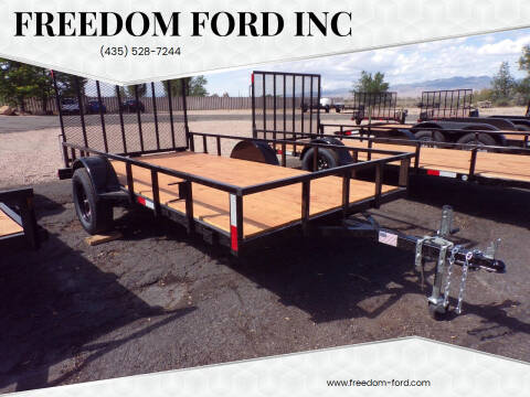 2022 FF OFFROAD 6x12 Single Axle for sale at Freedom Ford Inc in Gunnison UT