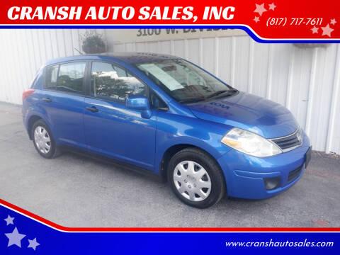2008 Nissan Versa for sale at CRANSH AUTO SALES, INC in Arlington TX