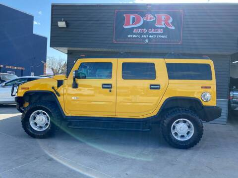 2003 HUMMER H2 for sale at D & R Auto Sales in South Sioux City NE