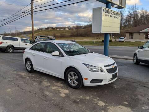 2014 Chevrolet Cruze for sale at Route 22 Autos in Zanesville OH