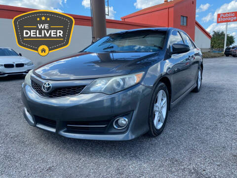 2013 Toyota Camry for sale at JC AUTO MARKET in Winter Park FL