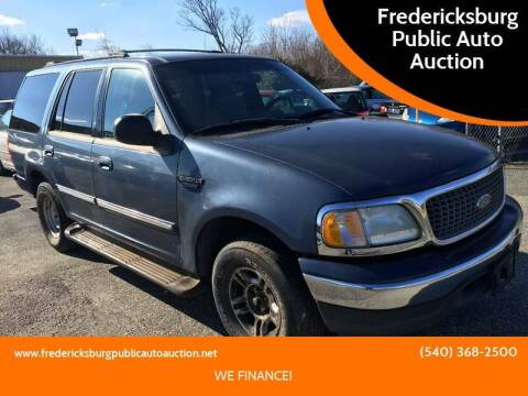 2001 Ford Expedition for sale at FPAA in Fredericksburg VA
