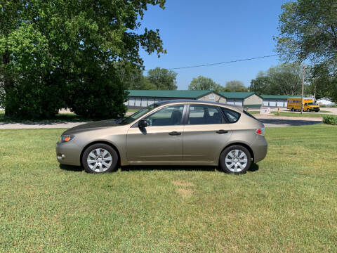2008 Subaru Impreza for sale at Velp Avenue Motors LLC in Green Bay WI