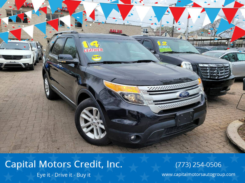 2014 Ford Explorer for sale at Capital Motors Credit, Inc. in Chicago IL
