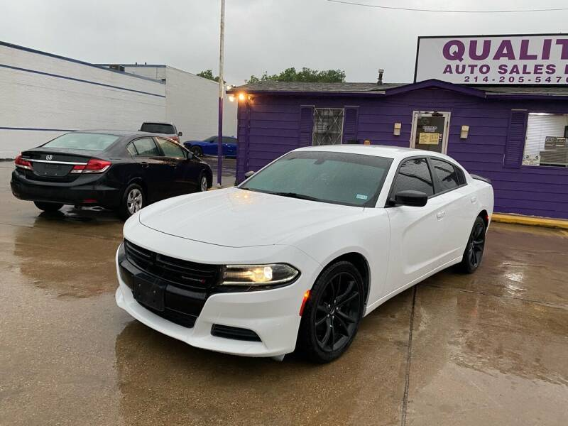 2017 Dodge Charger for sale at Quality Auto Sales LLC in Garland TX