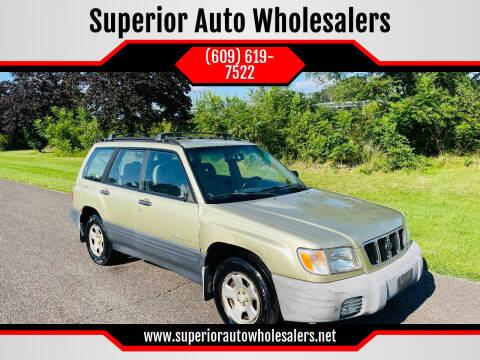 2001 Subaru Forester for sale at Superior Auto Wholesalers in Burlington NJ