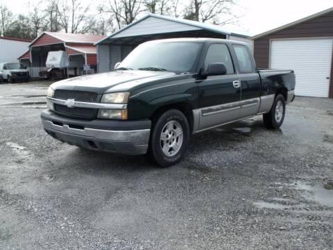 2004 Chevrolet Silverado 1500 for sale at CAROLINA TOY SHOP LLC in Hartsville SC