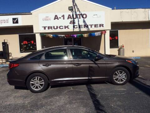2015 Hyundai Sonata for sale at A-1 AUTO AND TRUCK CENTER in Memphis TN