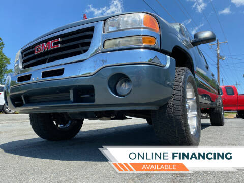 2007 GMC Sierra 1500 Classic for sale at Prime One Inc in Walkertown NC
