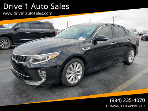 2018 Kia Optima for sale at Drive 1 Auto Sales in Wake Forest NC