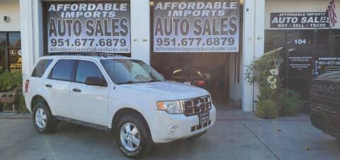 2009 Ford Escape for sale at Affordable Imports Auto Sales in Murrieta CA