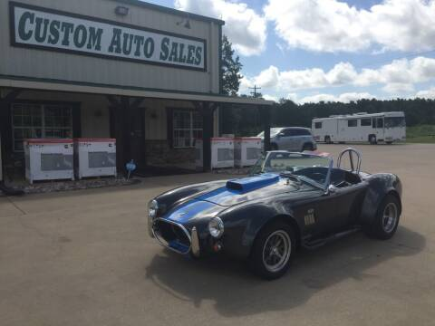 1965 Ford Shelby GT500 for sale at Custom Auto Sales - AUTOS in Longview TX