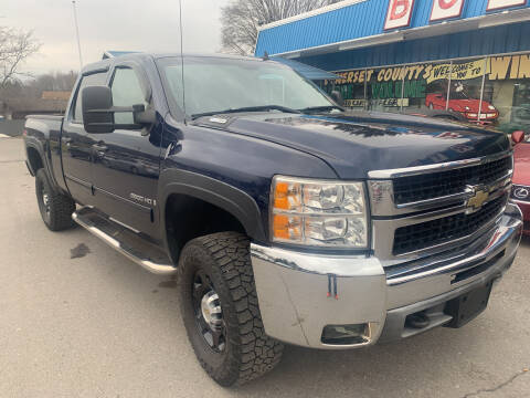 2009 Chevrolet Silverado 2500HD for sale at BURNWORTH AUTO INC in Windber PA