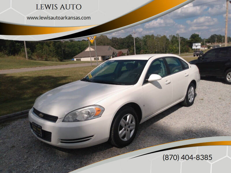 2008 Chevrolet Impala for sale at LEWIS AUTO in Mountain Home AR