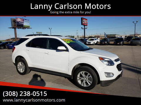 2017 Chevrolet Equinox for sale at Lanny Carlson Motors in Kearney NE