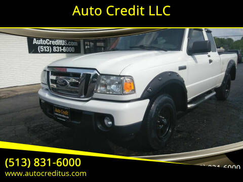 2011 Ford Ranger for sale at Auto Credit LLC in Milford OH