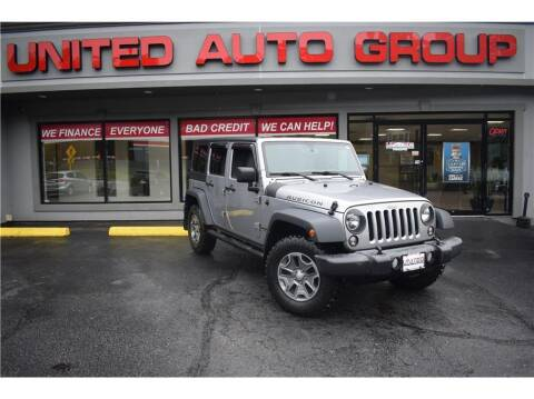 2016 Jeep Wrangler Unlimited for sale at United Auto Group in Putnam CT