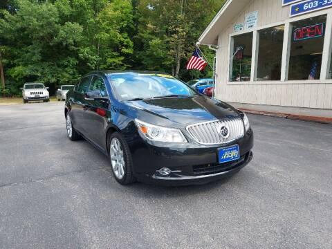 2011 Buick LaCrosse for sale at Fairway Auto Sales in Rochester NH