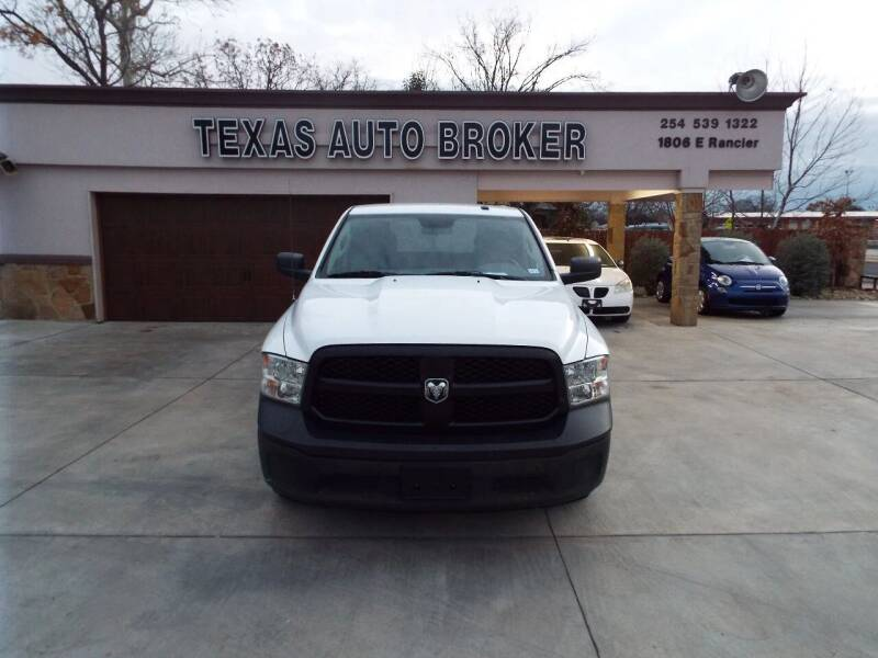 2014 RAM Ram Pickup 1500 for sale at Texas Auto Broker in Killeen TX