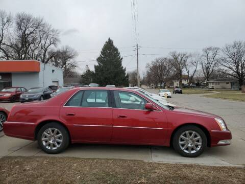 2011 Cadillac DTS for sale at RIVERSIDE AUTO SALES in Sioux City IA