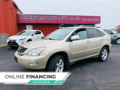 2007 Lexus RX 350 for sale at LUXURY IMPORTS AUTO SALES INC in North Branch MN