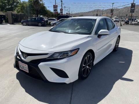 2018 Toyota Camry for sale at Los Compadres Auto Sales in Riverside CA