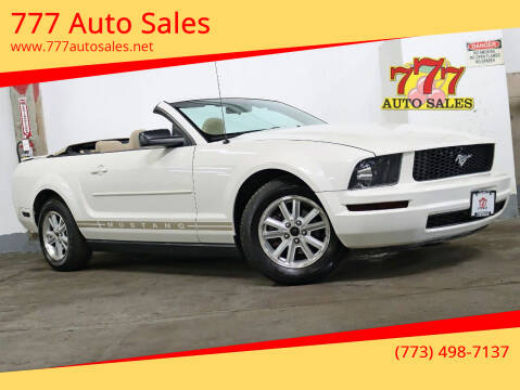 2008 Ford Mustang for sale at 777 Auto Sales in Bedford Park IL