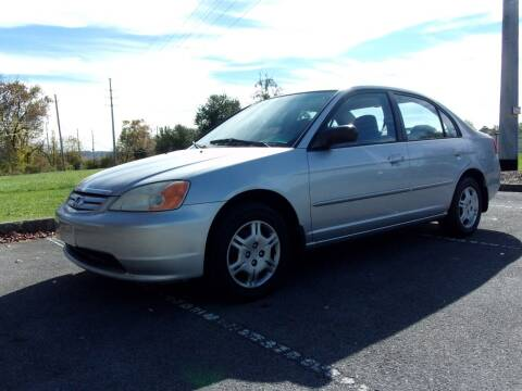 2002 Honda Civic for sale at Unique Auto Brokers in Kingsport TN