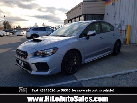 2019 Subaru WRX for sale at Hi-Lo Auto Sales in Frederick MD