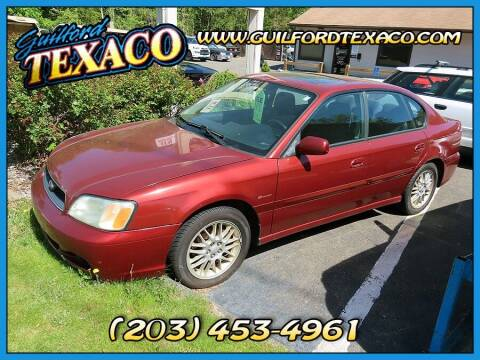 2004 Subaru Legacy for sale at GUILFORD TEXACO in Guilford CT