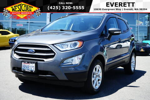 2019 Ford EcoSport for sale at West Coast Auto Works in Edmonds WA