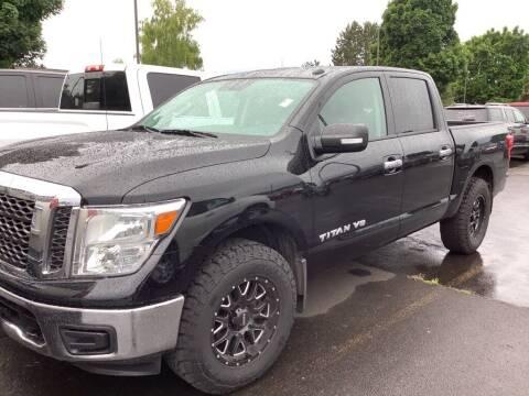2018 Nissan Titan for sale at Royal Moore Custom Finance in Hillsboro OR