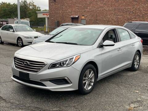 2017 Hyundai Sonata for sale at Ludlow Auto Sales in Ludlow MA