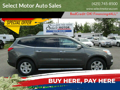 2011 Chevrolet Traverse for sale at Select Motor Auto Sales in Lynnwood WA
