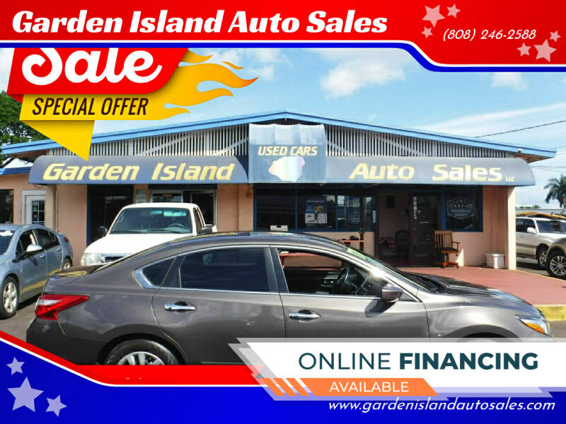 2017 Nissan Altima for sale at Garden Island Auto Sales in Lihue HI