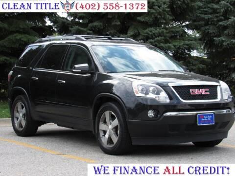2012 GMC Acadia for sale at NY AUTO SALES in Omaha NE