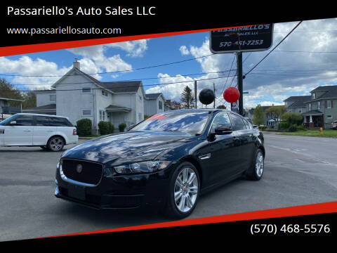 2019 Jaguar XE for sale at Passariello's Auto Sales LLC in Old Forge PA