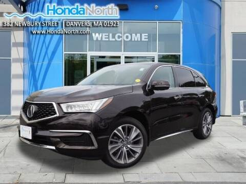 2018 Acura MDX for sale at 1 North Preowned in Danvers MA