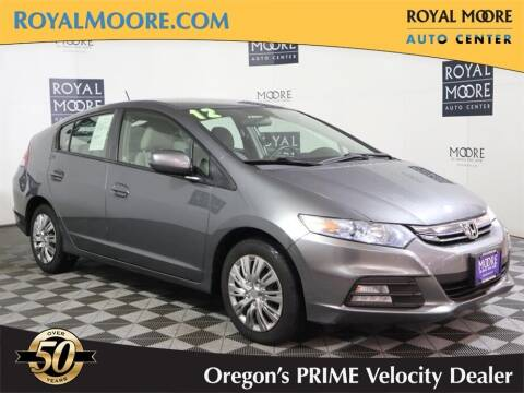 2012 Honda Insight for sale at Royal Moore Custom Finance in Hillsboro OR