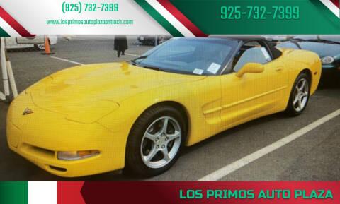 2001 Chevrolet Corvette for sale at Los Primos Auto Plaza in Antioch CA