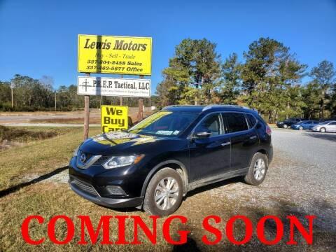 2015 Nissan Rogue for sale at Lewis Motors LLC in Deridder LA